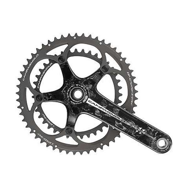 Campagnolo RECORD Carbon Kurbel 53/39 170 mm