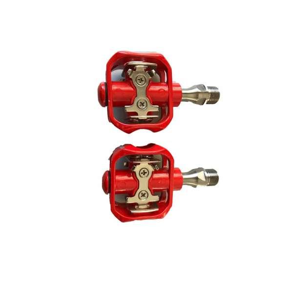 Corratec Pedals Easy Click Titan Rot