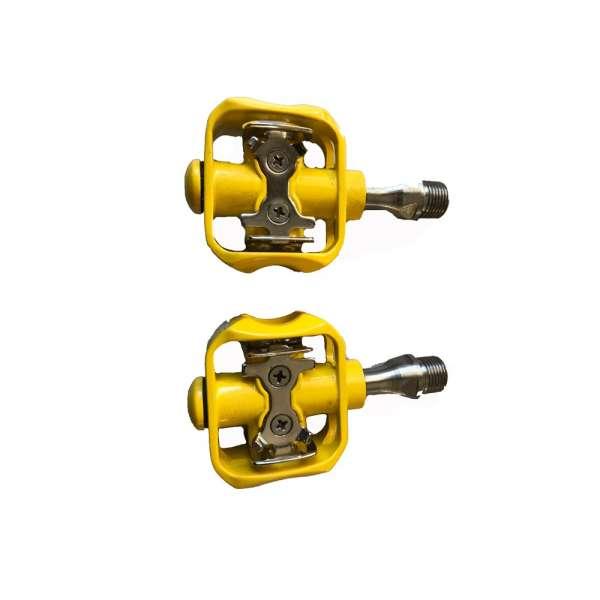 Corratec Pedals Easy Click Titan Gelb